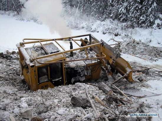 The life of a typical seismic prospecting crew in Russia photo 27