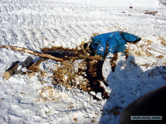 The life of a typical seismic prospecting crew in Russia photo 29