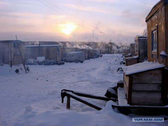 The life of a typical seismic prospecting crew in Russia photo 3