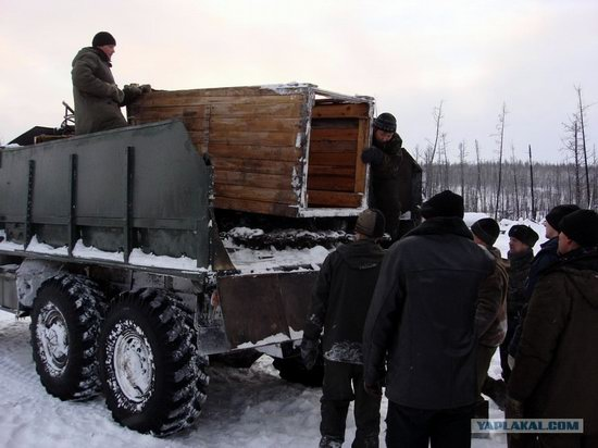 The life of a typical seismic prospecting crew in Russia photo 31