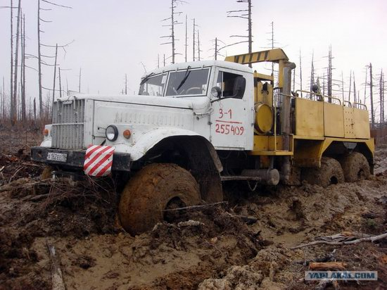 The life of a typical seismic prospecting crew in Russia photo 40