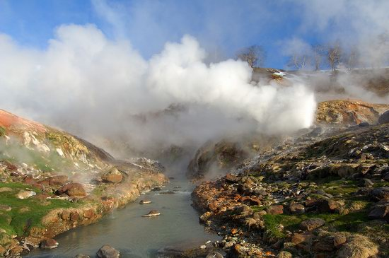 The Valley of Geysers colors, Kamchatka, Russia photo 11
