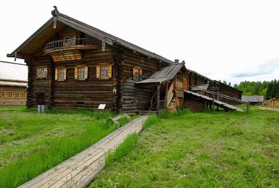 Architectural and Ethnographic Museum Semyonkovo, Vologda, Russia photo 2
