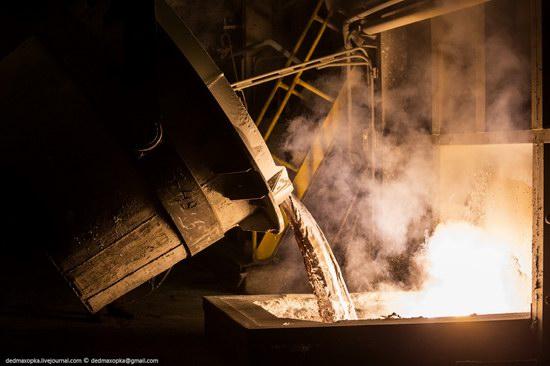 Krasnoyarsk aluminum plant, RUSAL, Russia photo 1