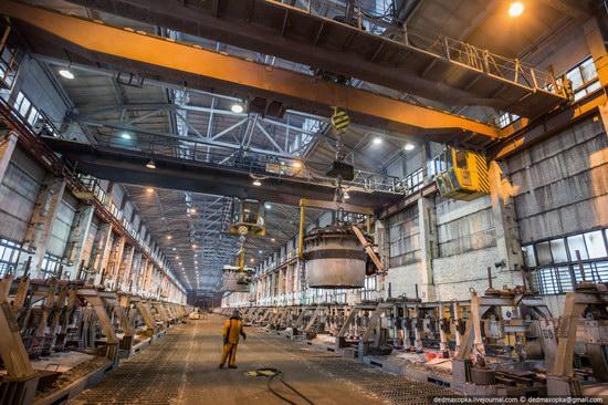 Krasnoyarsk aluminum plant, RUSAL, Russia photo 10