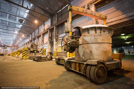 Krasnoyarsk aluminum plant, RUSAL, Russia photo 12