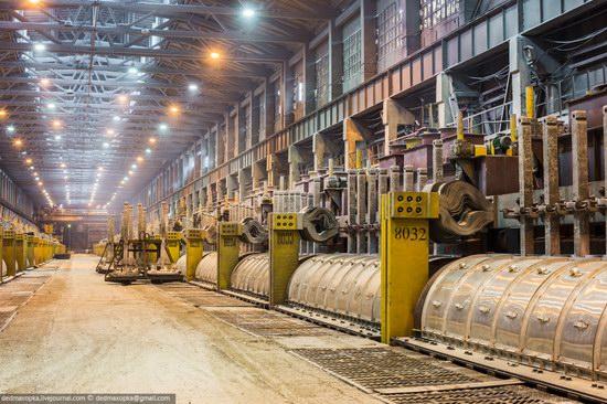 Krasnoyarsk aluminum plant, RUSAL, Russia photo 13