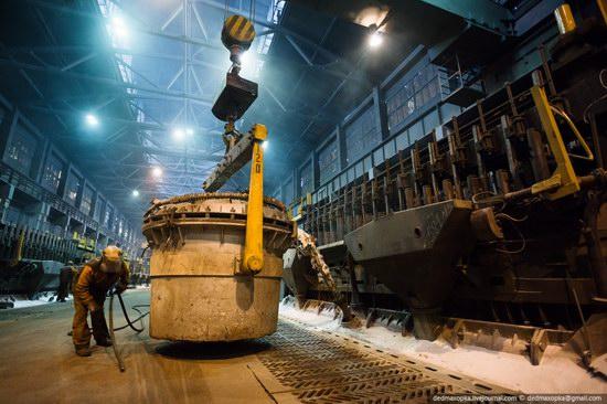 Krasnoyarsk aluminum plant, RUSAL, Russia photo 2