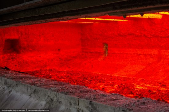 Krasnoyarsk aluminum plant, RUSAL, Russia photo 21