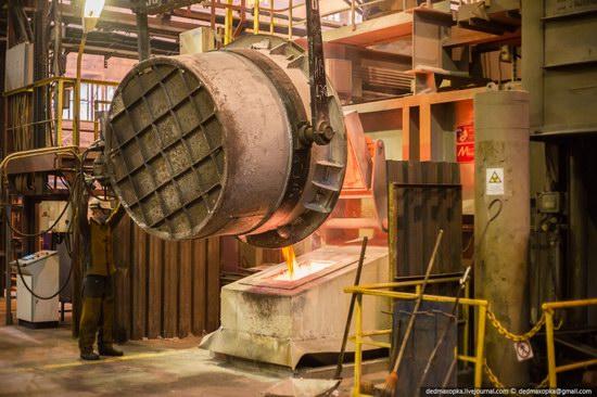 Krasnoyarsk aluminum plant, RUSAL, Russia photo 24