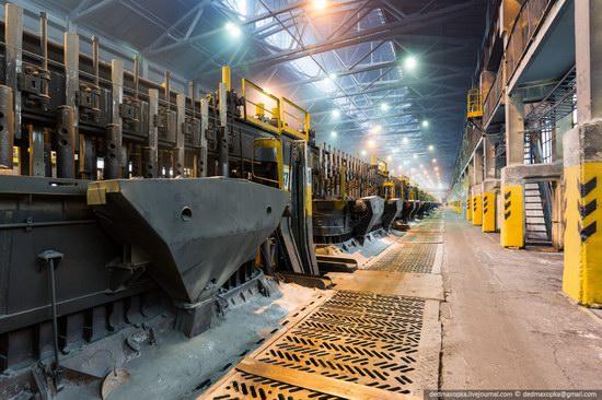 Krasnoyarsk aluminum plant, RUSAL, Russia photo 3