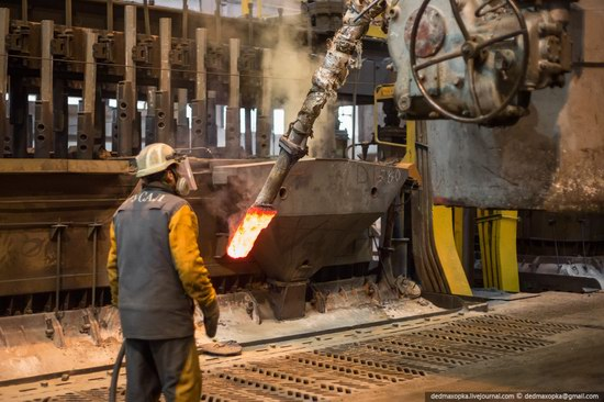 Krasnoyarsk aluminum plant, RUSAL, Russia photo 4