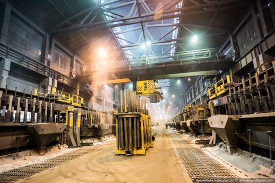Krasnoyarsk aluminum plant, RUSAL, Russia photo 5