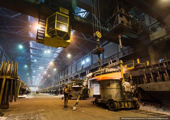 Krasnoyarsk aluminum plant, RUSAL, Russia photo 7