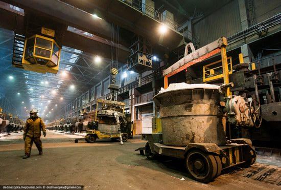 Krasnoyarsk aluminum plant, RUSAL, Russia photo 8