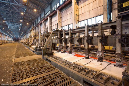 Krasnoyarsk aluminum plant, RUSAL, Russia photo 9