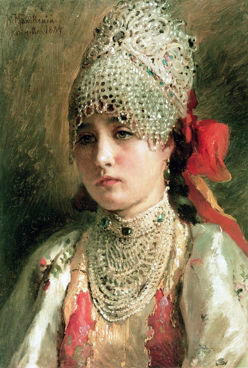 Russian Paintings Of Women Russian beauty ...
