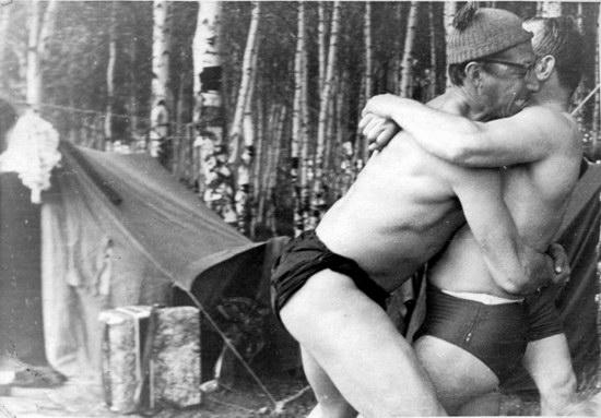 The first Soviet cosmonauts picnic, photo 12