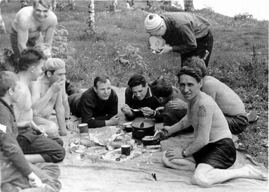 The first Soviet cosmonauts picnic, photo 13