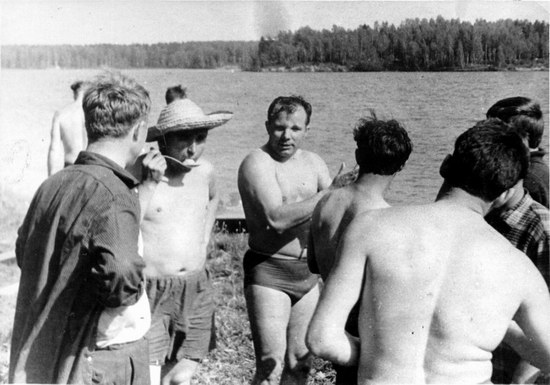 The first Soviet cosmonauts picnic, photo 14