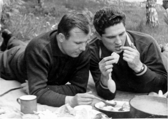 The first Soviet cosmonauts picnic, photo 15