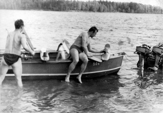 The first Soviet cosmonauts picnic, photo 17