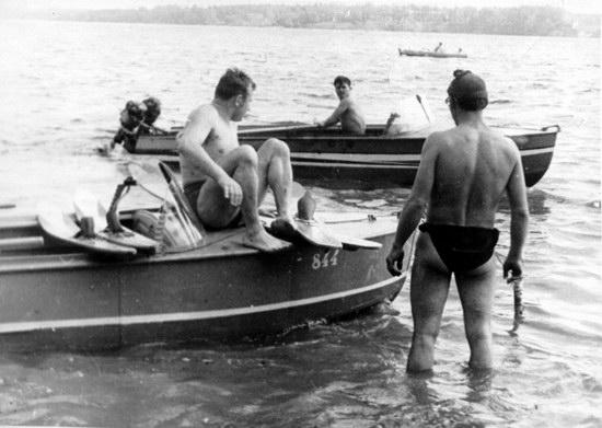 The first Soviet cosmonauts picnic, photo 2