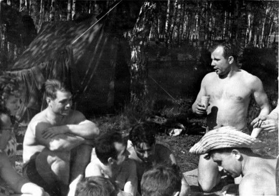 The first Soviet cosmonauts picnic, photo 20