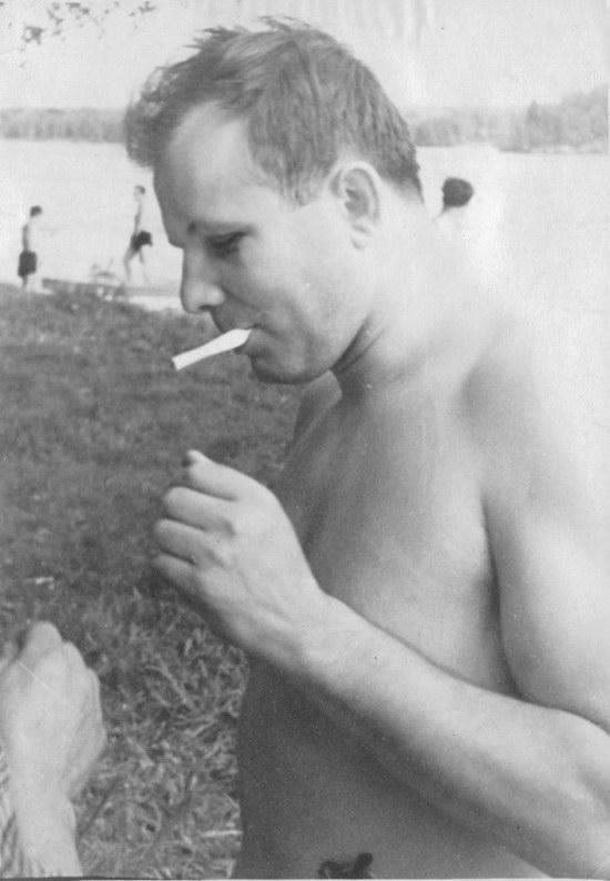 The first Soviet cosmonauts picnic, photo 6