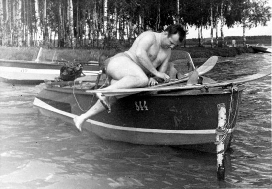 The first Soviet cosmonauts picnic, photo 8