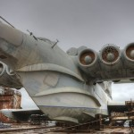 "Soviet missile-carrying ekranoplan ""Lun"""