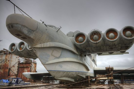 Soviet missile ekranoplan Lun aircraft, Russia photo 1