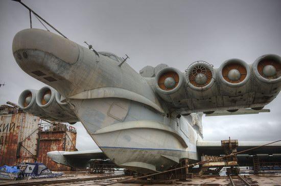 Soviet missile ekranoplan Lun aircraft, Russia photo 1