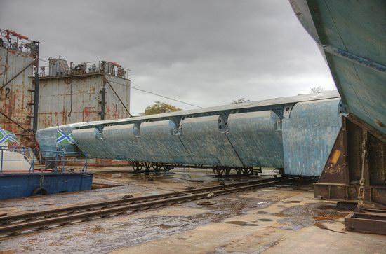 Soviet missile ekranoplan Lun aircraft, Russia photo 10