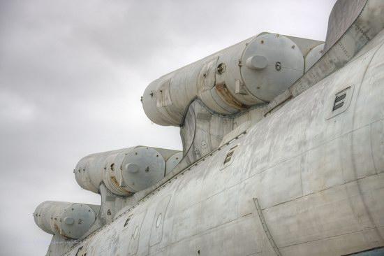 Soviet missile ekranoplan Lun aircraft, Russia photo 13