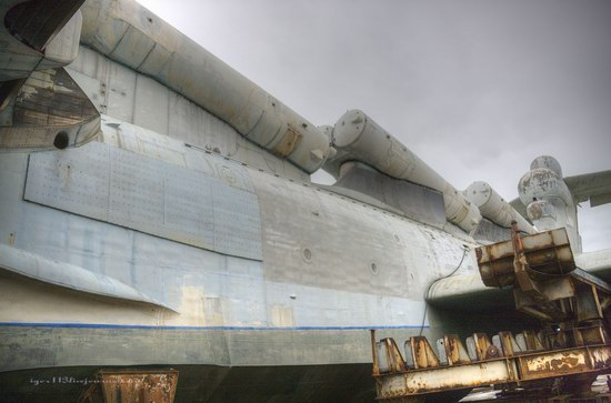 Soviet missile ekranoplan Lun aircraft, Russia photo 14