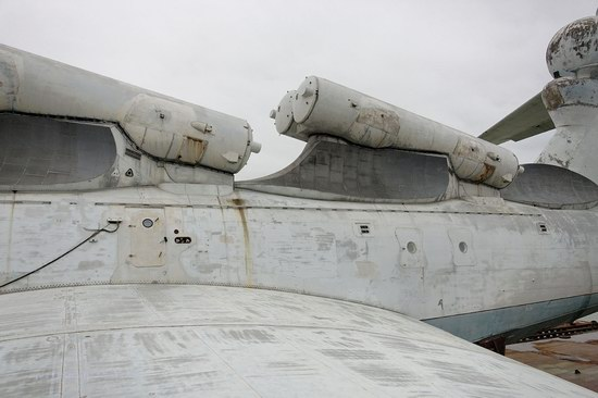 Soviet missile ekranoplan Lun aircraft, Russia photo 15