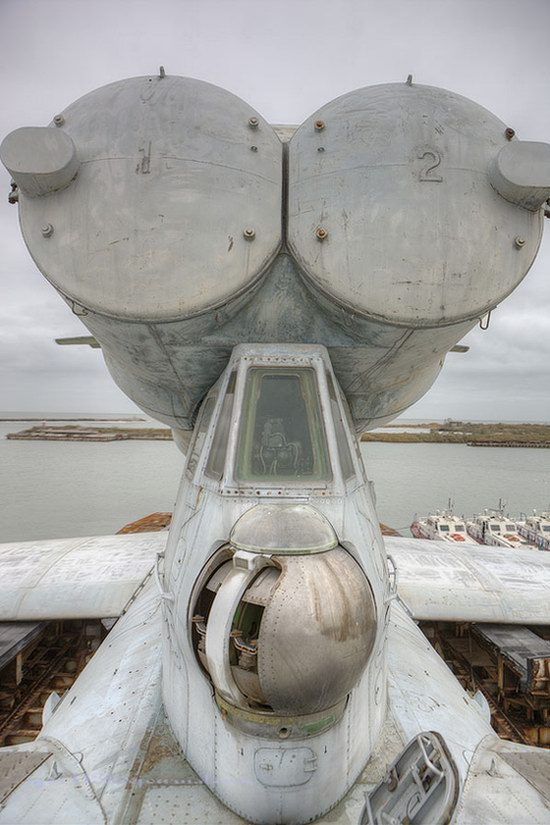 Soviet missile ekranoplan Lun aircraft, Russia photo 16