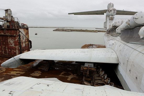 Soviet missile ekranoplan Lun aircraft, Russia photo 18