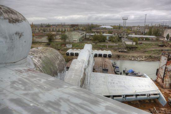 Soviet missile ekranoplan Lun aircraft, Russia photo 20