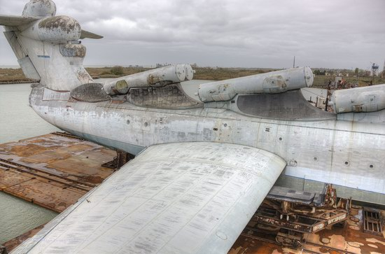 Soviet missile ekranoplan Lun aircraft, Russia photo 22