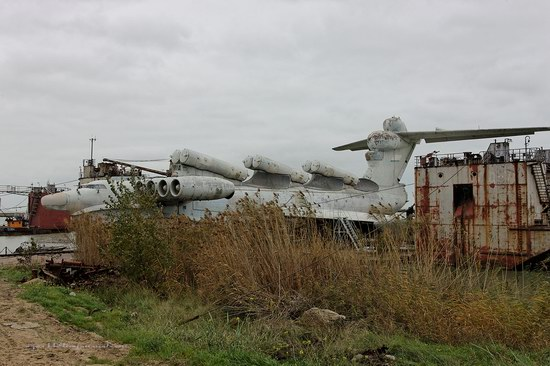 Soviet missile ekranoplan Lun aircraft, Russia photo 24