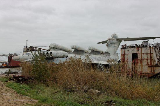 Soviet missile ekranoplan Lun aircraft, Russia photo 24