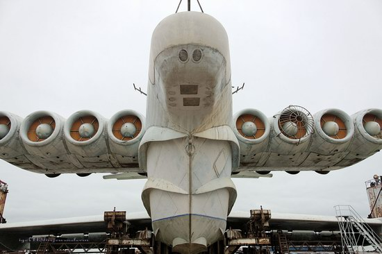 Soviet missile ekranoplan Lun aircraft, Russia photo 3
