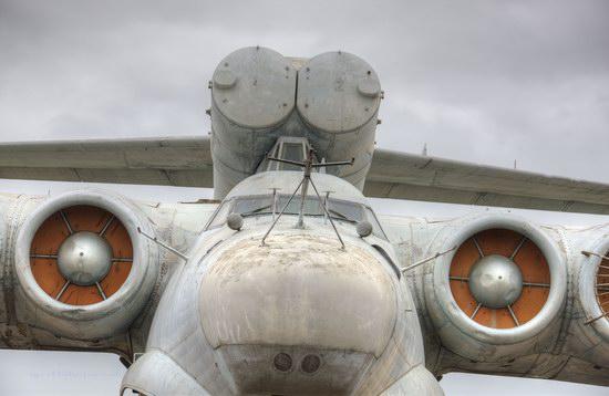 Soviet missile ekranoplan Lun aircraft, Russia photo 4