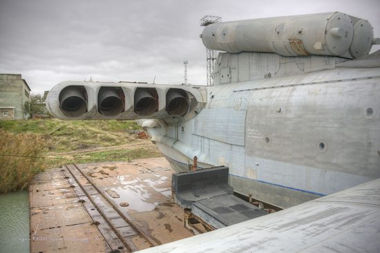 Soviet missile ekranoplan Lun aircraft, Russia photo 8
