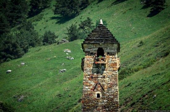 The beautiful scenery of the mountain Ingushetia, Russia photo 17