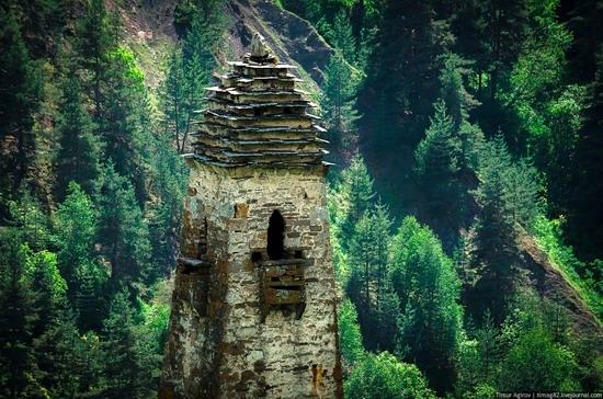 The beautiful scenery of the mountain Ingushetia, Russia photo 18