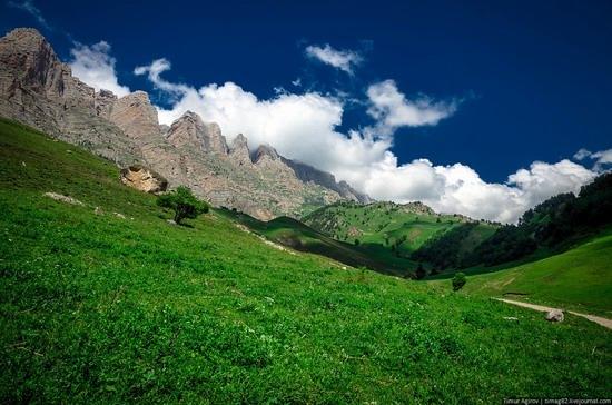 The beautiful scenery of the mountain Ingushetia, Russia photo 20