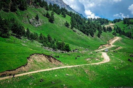 The beautiful scenery of the mountain Ingushetia, Russia photo 22
